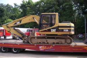 abel towing equipment hauling